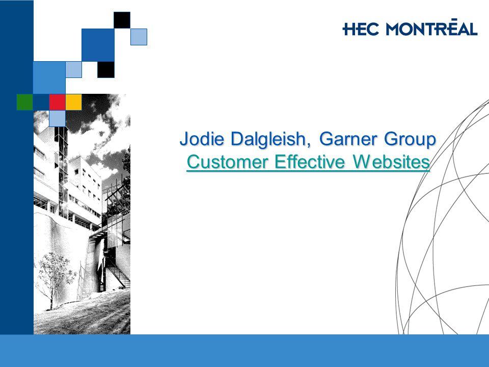 Jodie Dalgleish, Garner Group Customer Effective Websites Customer Effective Websites Customer Effective Websites