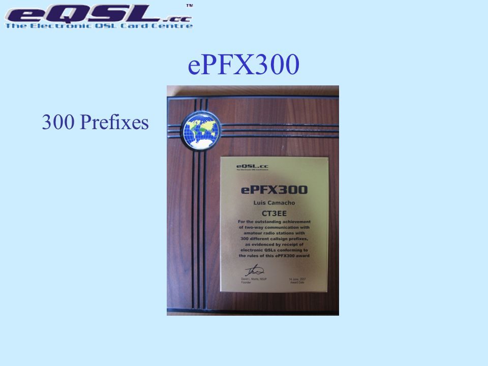 ePFX300 300 Prefixes