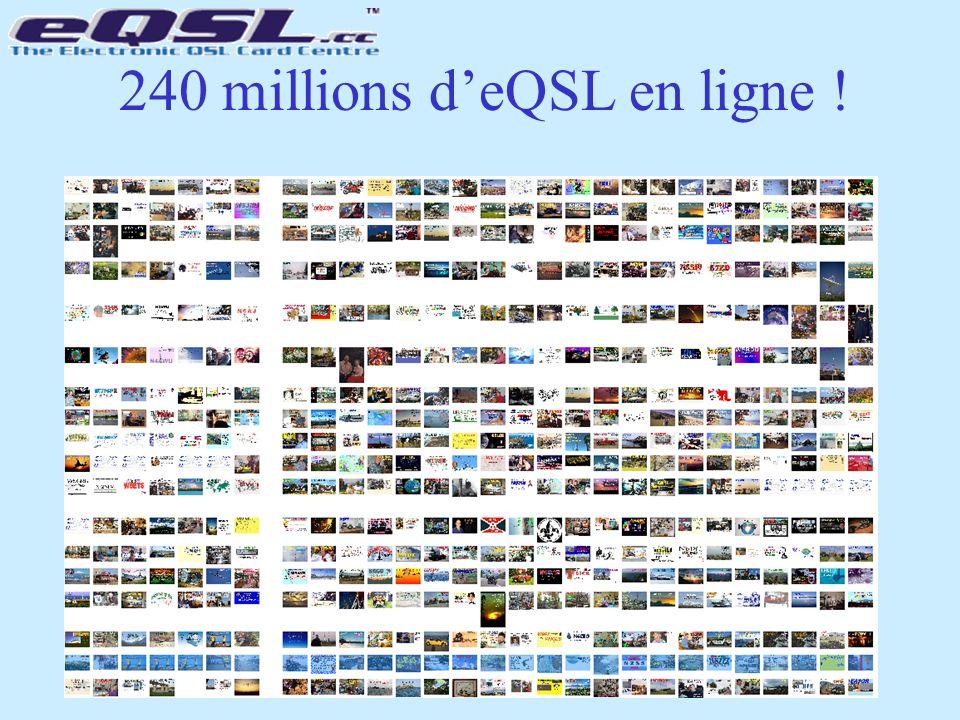 240 millions d'eQSL en ligne !