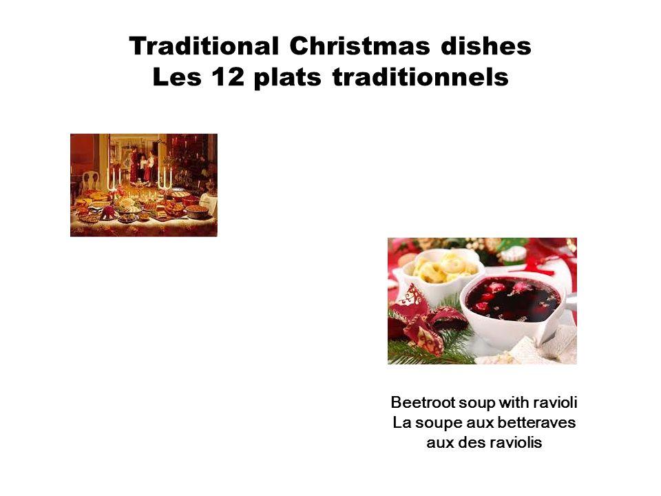 Dumplings stuffed with cabage and mushrooms Les pierogis aux cham pignons et au chou Carp La carpe