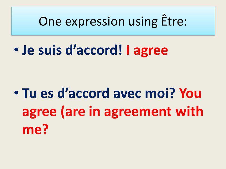 Être-to be