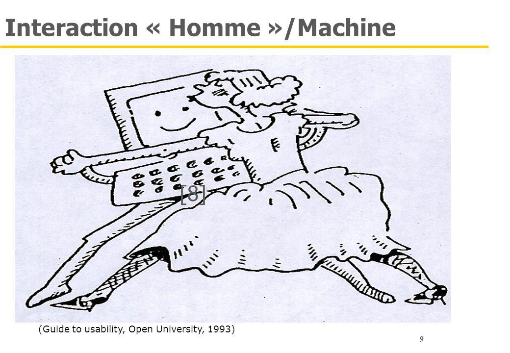 30 En tant que concepteur… Retenez Ce n'est pas à l'utilisateur de s'adapter à vos idées, certes géniales Mais 1.C'est à vous d'adapter l'application à l'activité de l'utilisateur 2.Les utilisateurs savent rarement spécifier leurs besoins 3.Les besoins évoluent avec le temps Pour cela Des sciences (humaines) : ergonomie (des logiciels), psychologie, sociologie Des méthodes : conception centrée utilisateur Des techniques : entretiens, incidents critiques etc.
