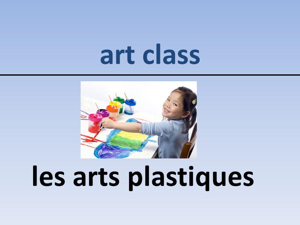 art class les arts plastiques