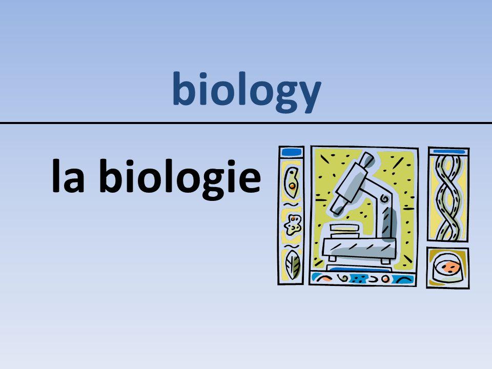 biology la biologie