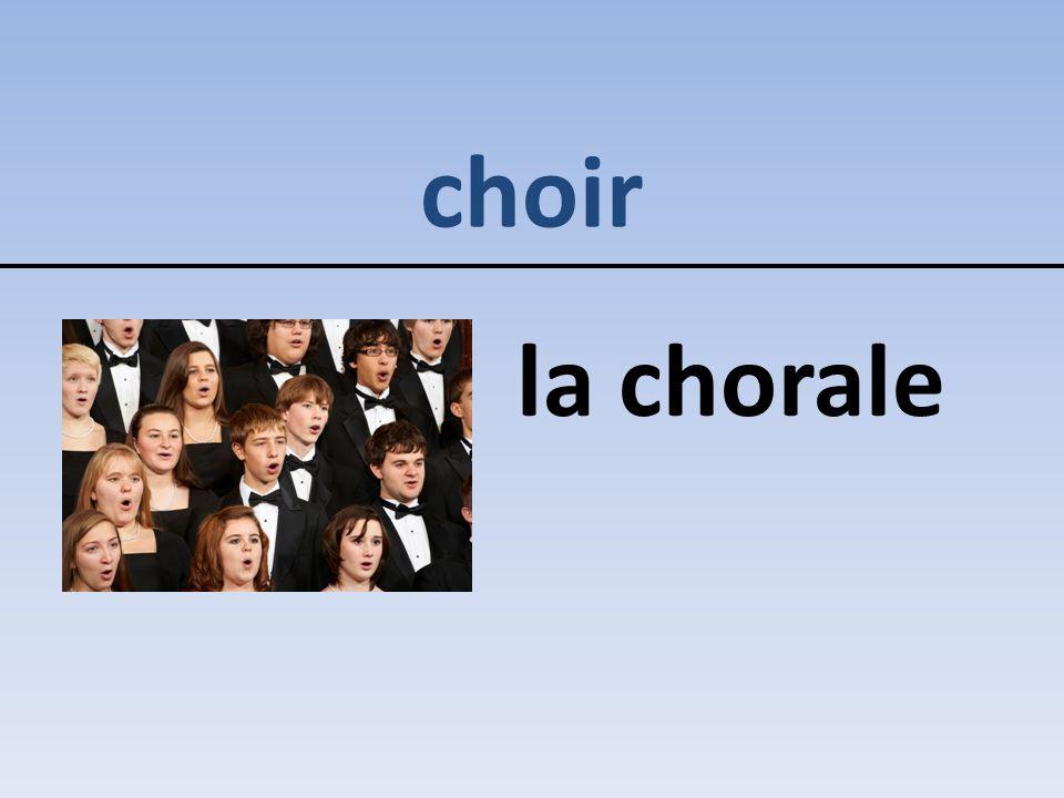 choir la chorale