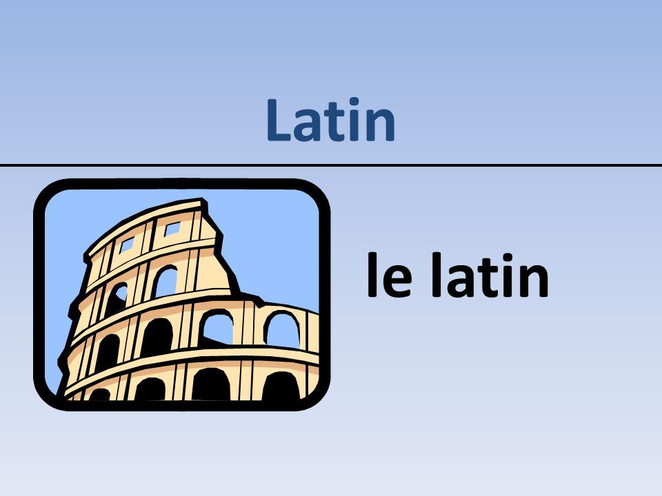 Latin le latin