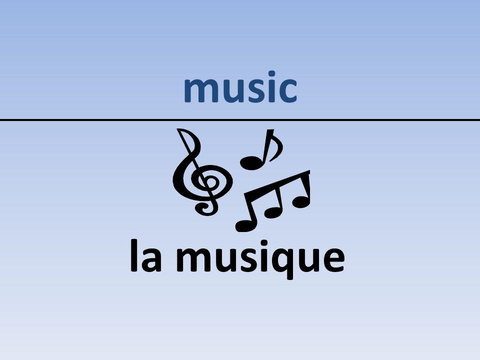 music la musique