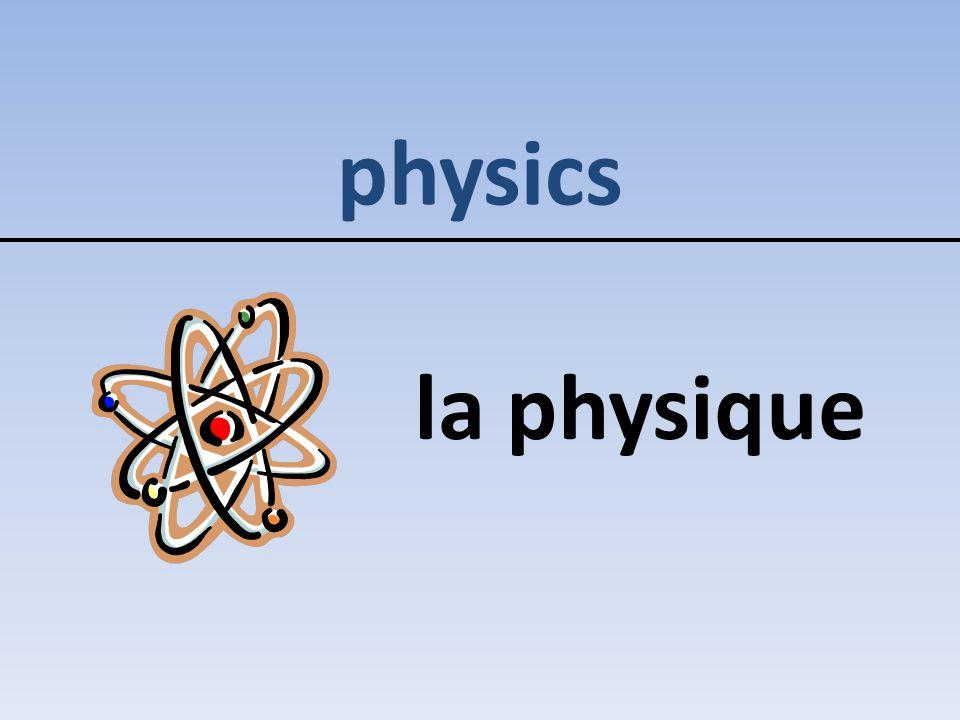 physics la physique