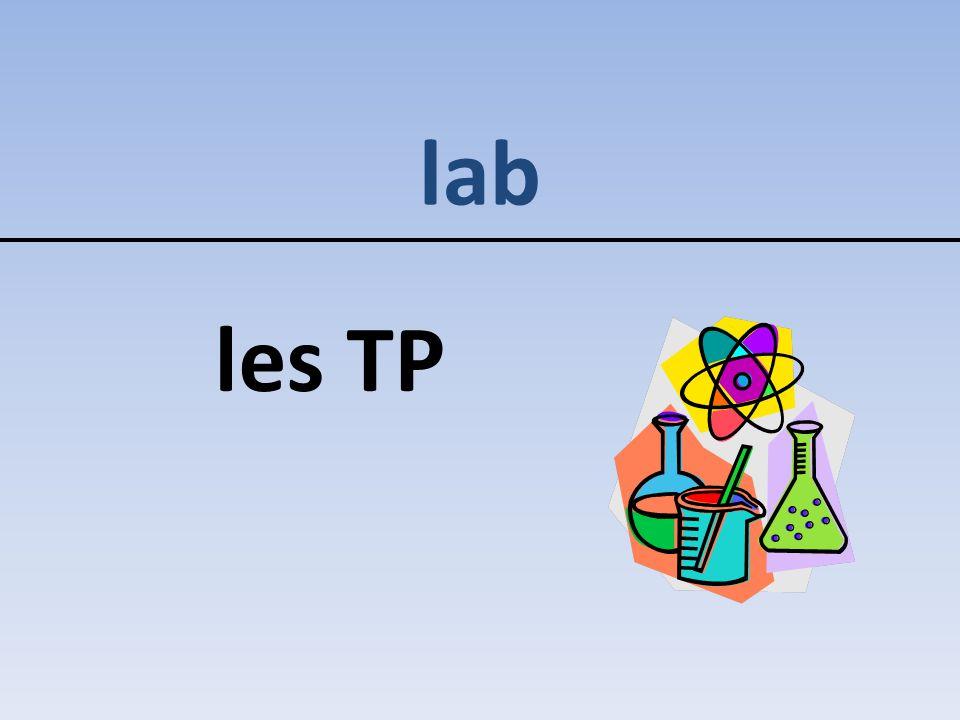lab les TP