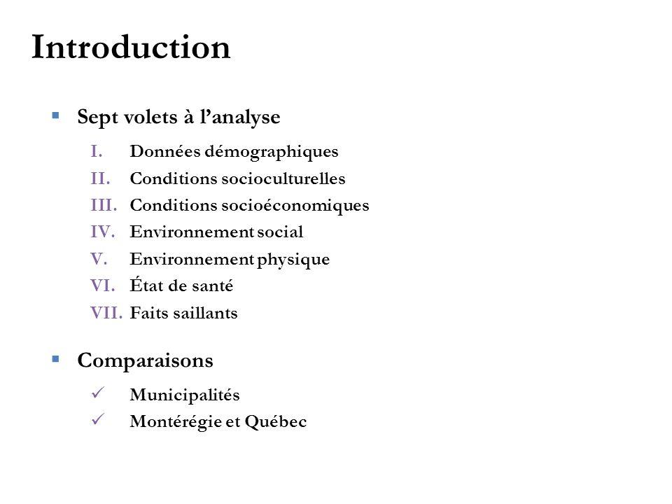 II - Conditions socioculturelles