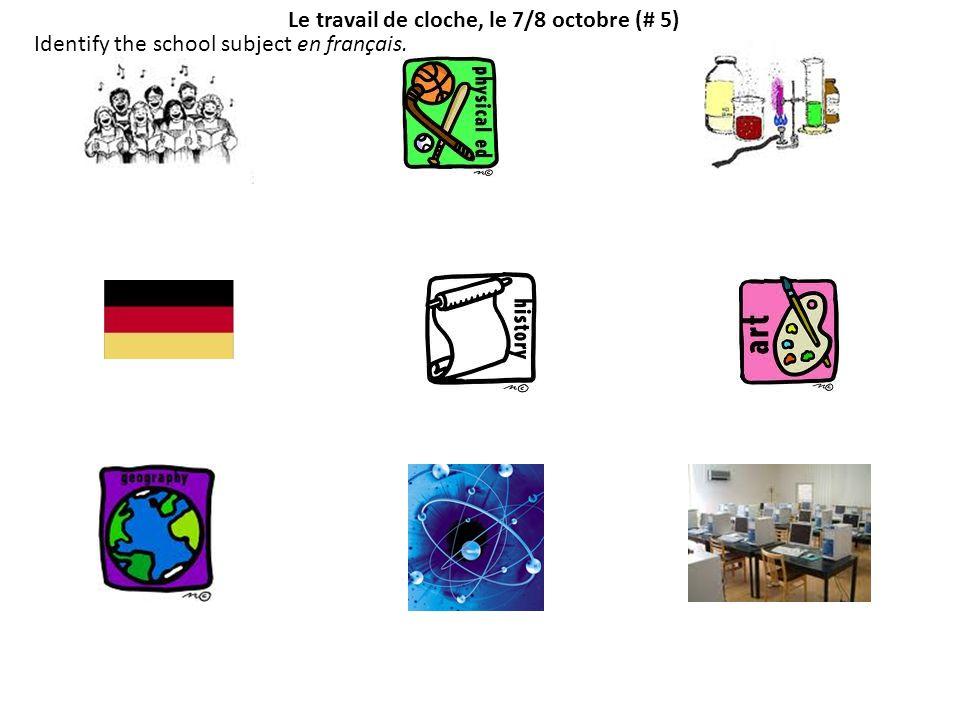 Le travail de cloche, le 13/14 octobre (#6) Faites les maths.