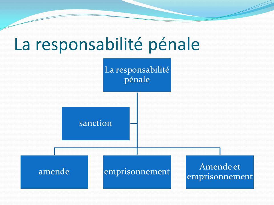 Le délai de prescription de la responsabilité pénale contravention 2ANS délit 3ANS crime 10ANS
