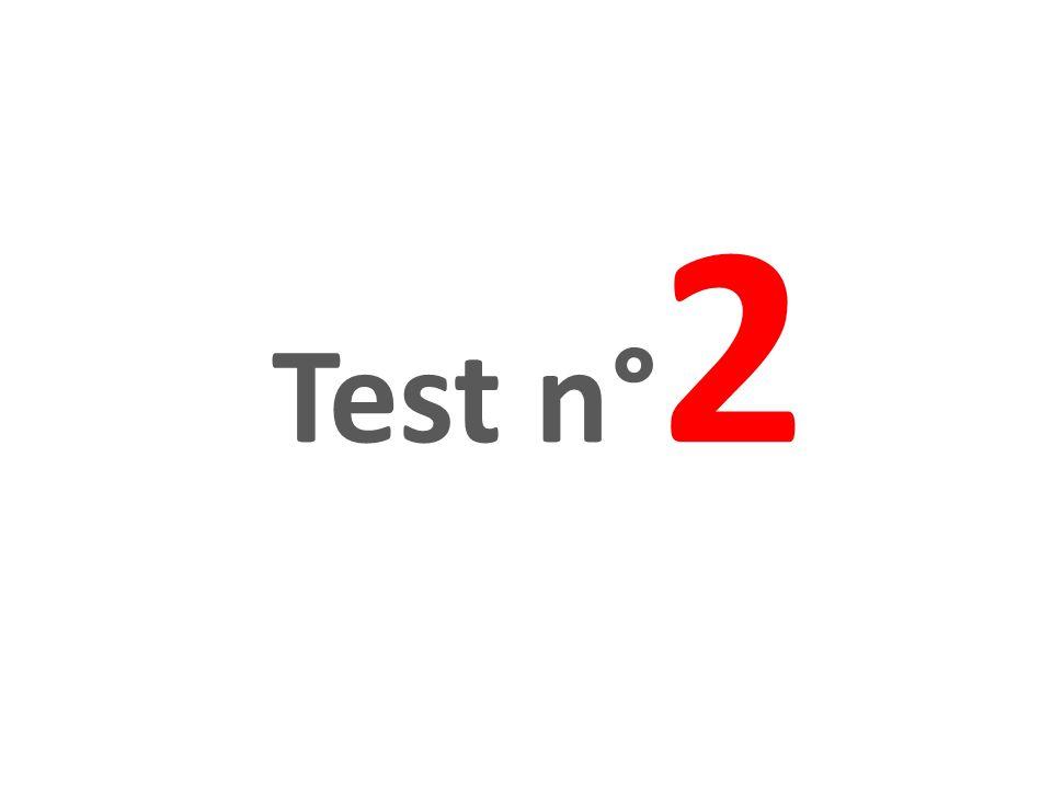 Test n° 2