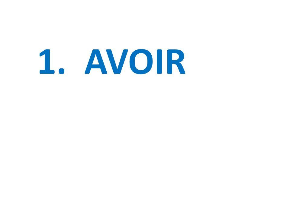 1. AVOIR