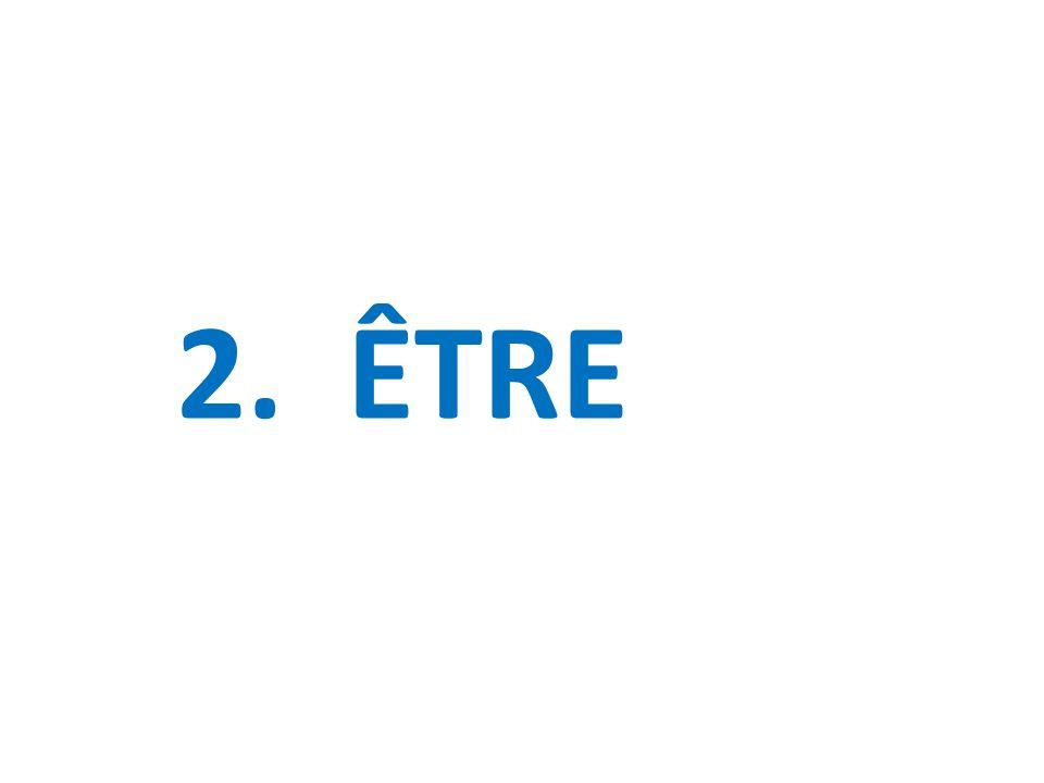 2. ÊTRE