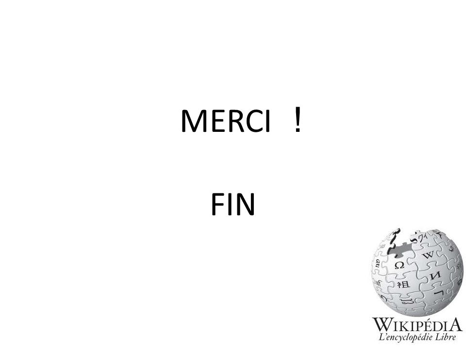 MERCI ! FIN