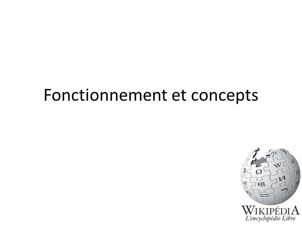 Fonctionnement et concepts