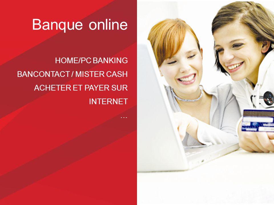 Banque online HOME/PC BANKING BANCONTACT / MISTER CASH ACHETER ET PAYER SUR INTERNET …