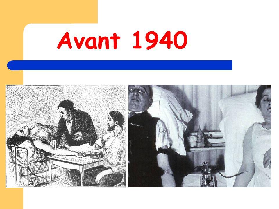 l'aventure moderne 1940 : Landsteiner et Wiener découvrent le facteur Rhésus.