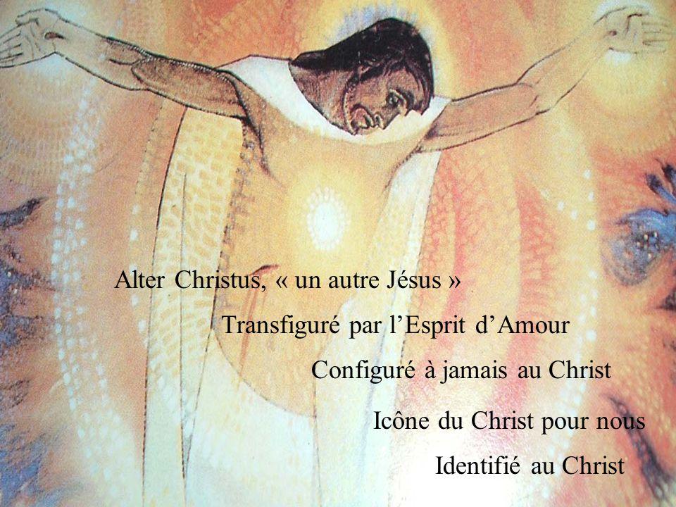 Uni au Christ pour la gloire de Dieu et le salut du monde Reposant sur le Cœur de Jésus Ayant reçu le baiser de prédilection