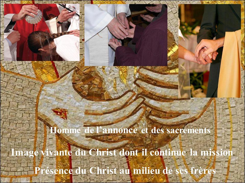 Homme de l'Eucharistie Reflet du mystère de la Trinité