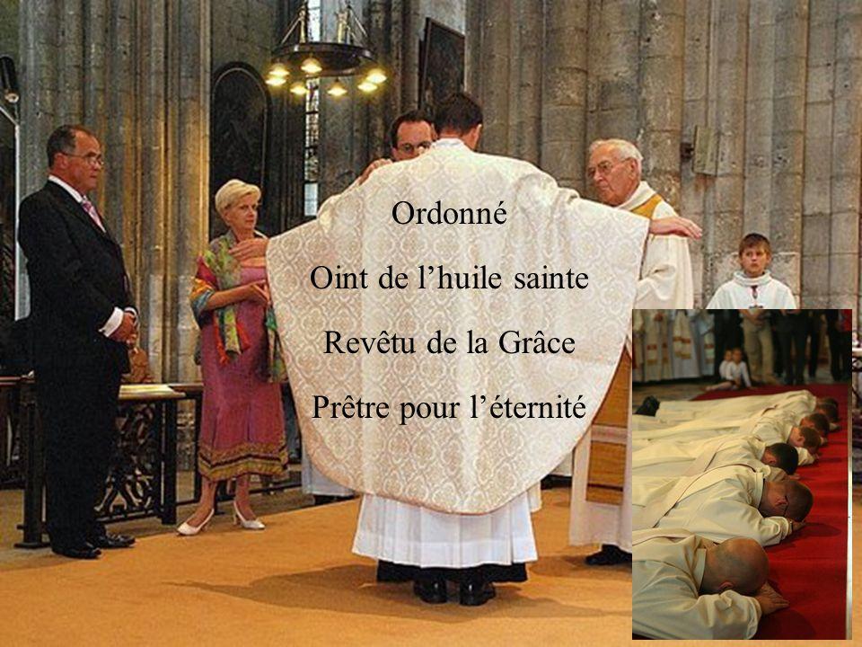 Homme de Dieu, pris parmi les hommes pour les hommes Chrétien avec nous, prêtre pour nous, à la suite du Christ