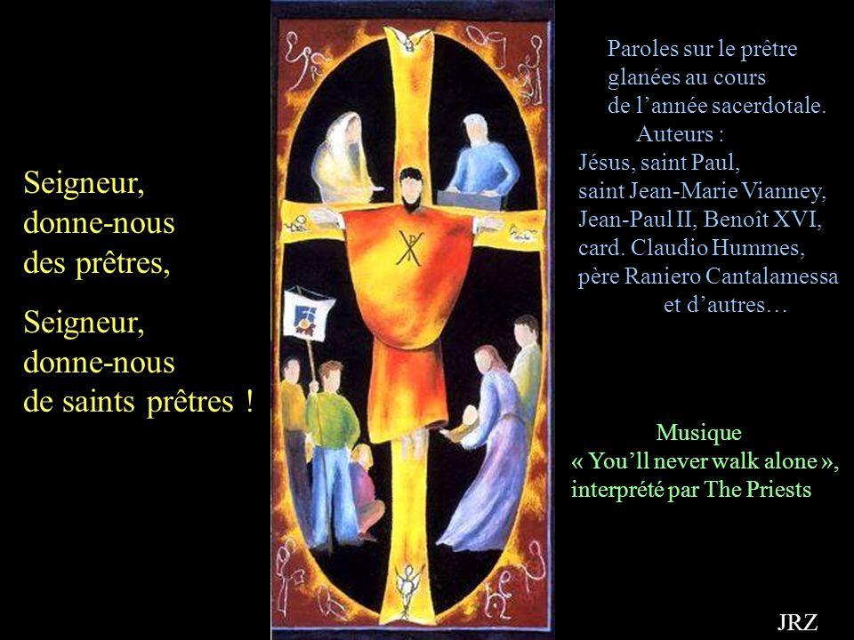 On ne naît pas prêtre, on le devient… Bénédiction divine