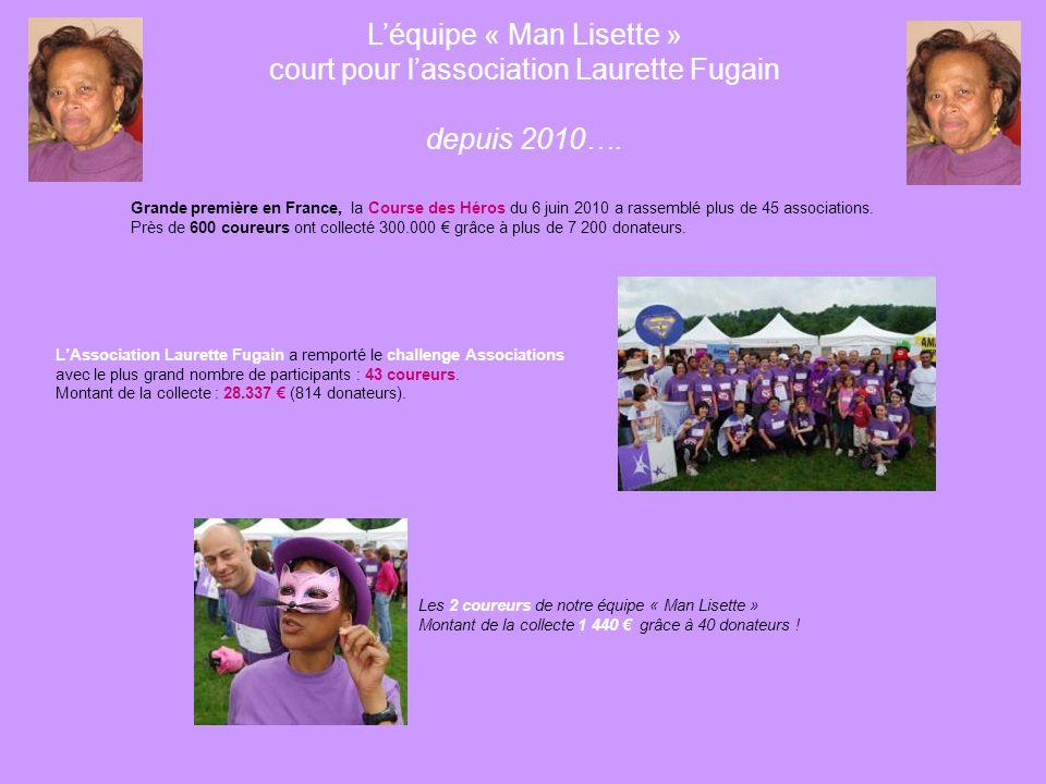Notre soutien à l'Association Laurette Fugain L'objet de l'association est la mobilisation en faveur du Don de Vie et la lutte contre la leucémie. Ell