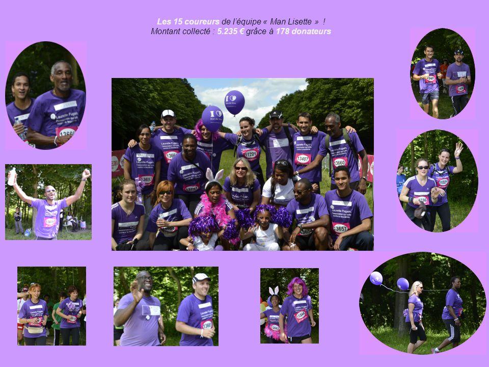 L'édition 2012 Lors de la troisième édition de la Course des Héros, à Paris, le 24 juin 2012 2.000 coureurs ont collecté 1.100.000 €, en soutien à 150