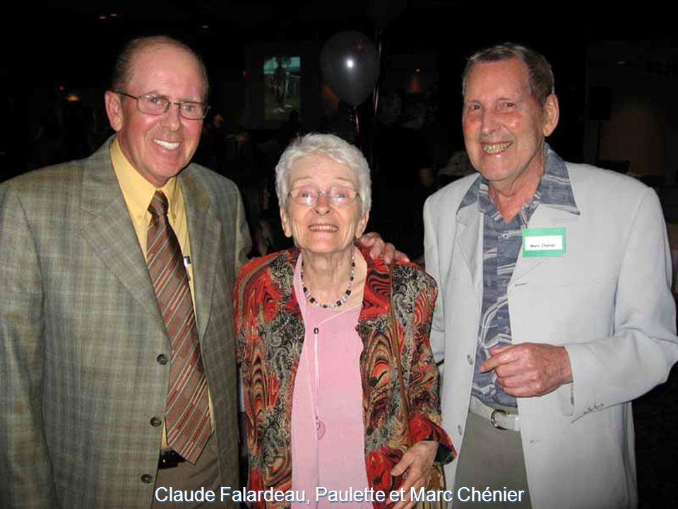Claude Falardeau, Paulette et Marc Chénier