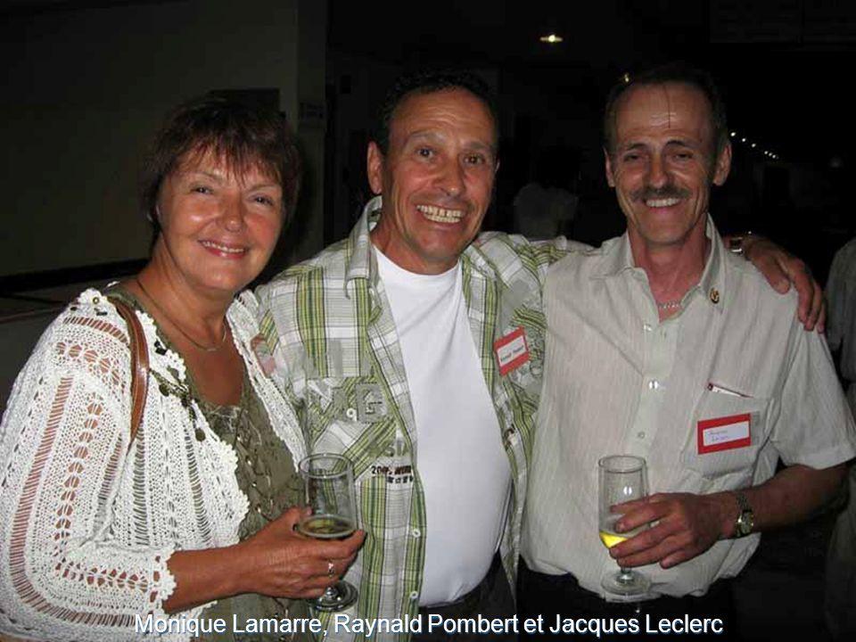 Monique Lamarre, Raynald Pombert et Jacques Leclerc