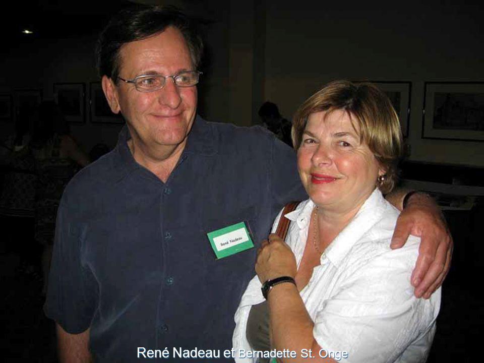 René Nadeau et Bernadette St. Onge