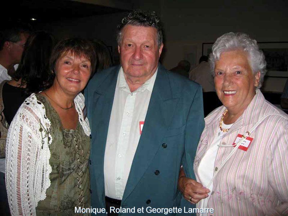 Monique, Roland et Georgette Lamarre