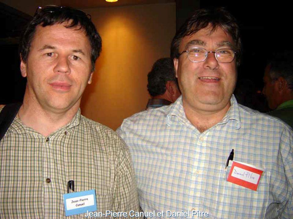 Jean-Pierre Canuel et Daniel Pitre