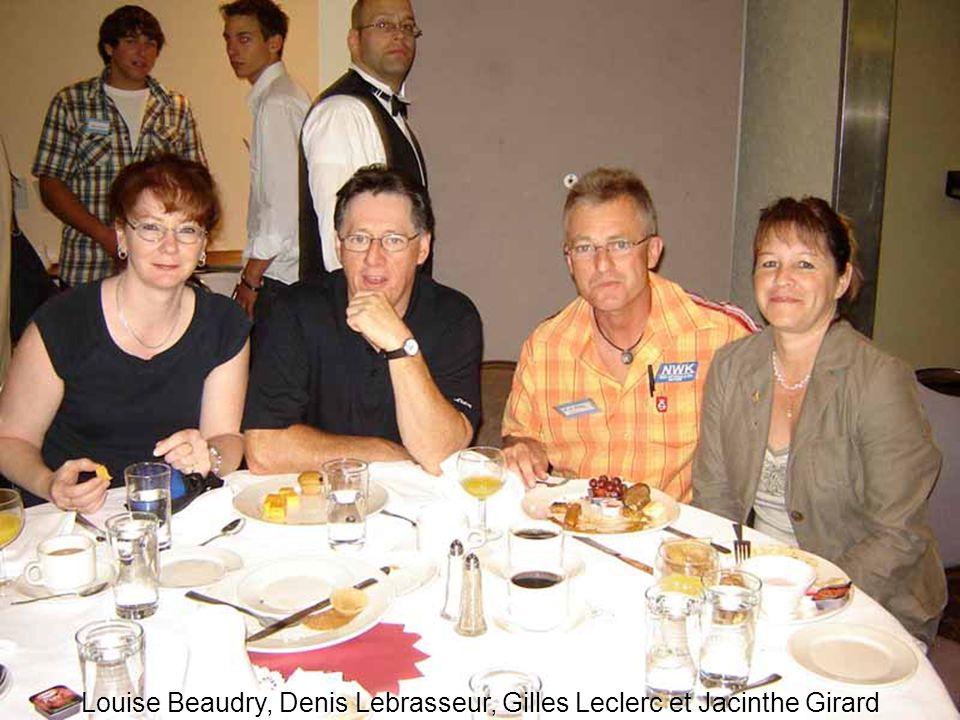 Louise Beaudry, Denis Lebrasseur, Gilles Leclerc et Jacinthe Girard