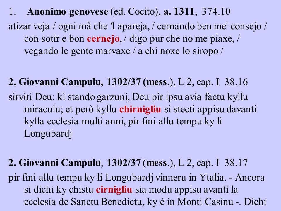 1. Anonimo genovese (ed. Cocito), a.