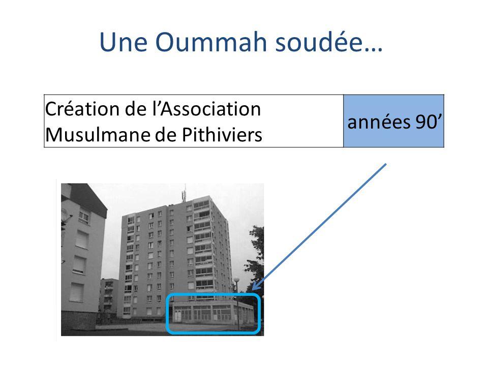 Une Oummah soudée… Création de l'Association Musulmane de Pithiviers années 90'