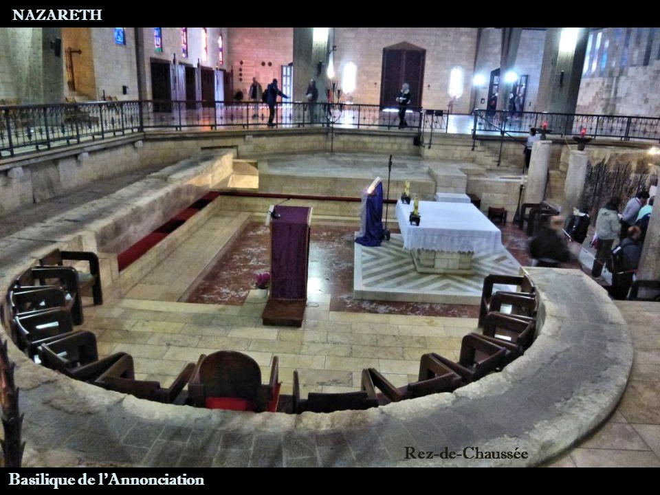NAZARETH Rez-de-Chaussée Basilique de l Annonciation