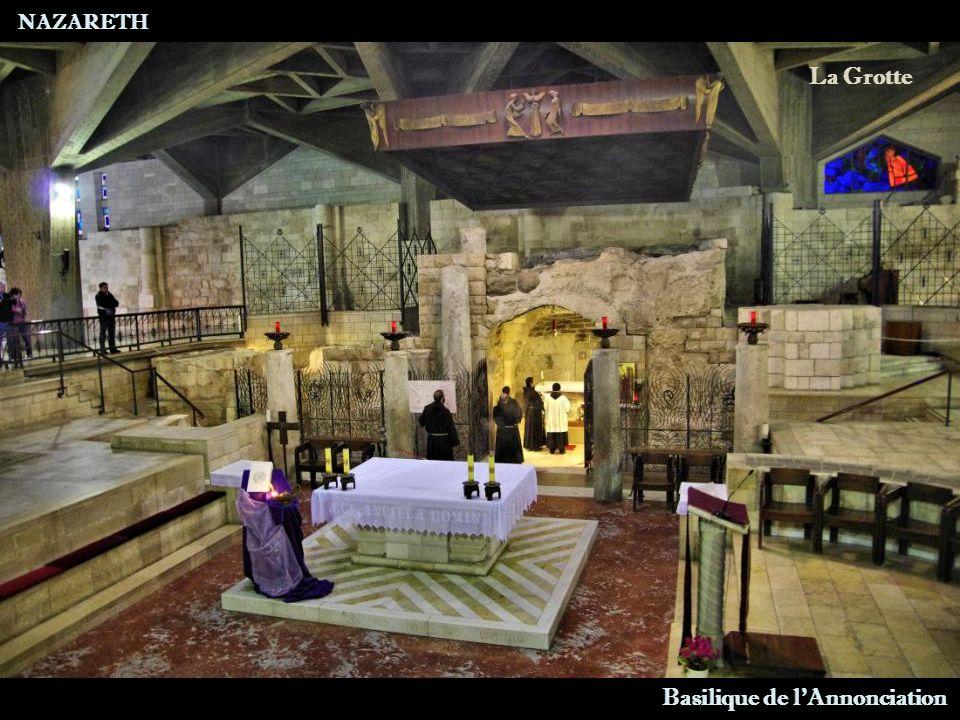 NAZARETH Basilique de l Annonciation Rez-de-Chaussée