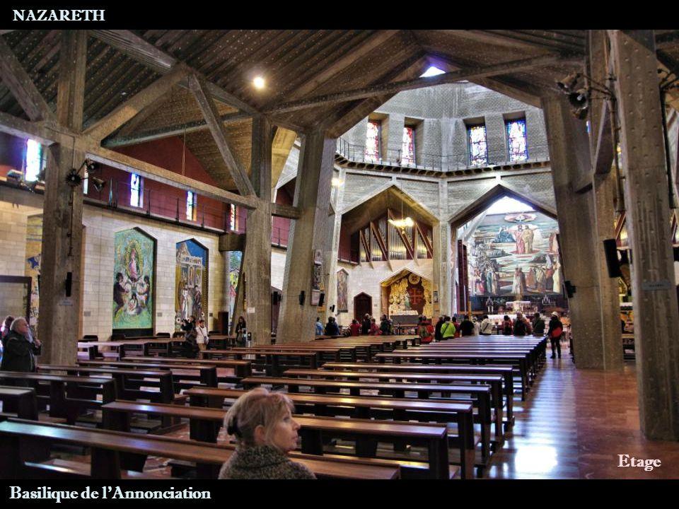 NAZARETH Basilique de l Annonciation Dôme