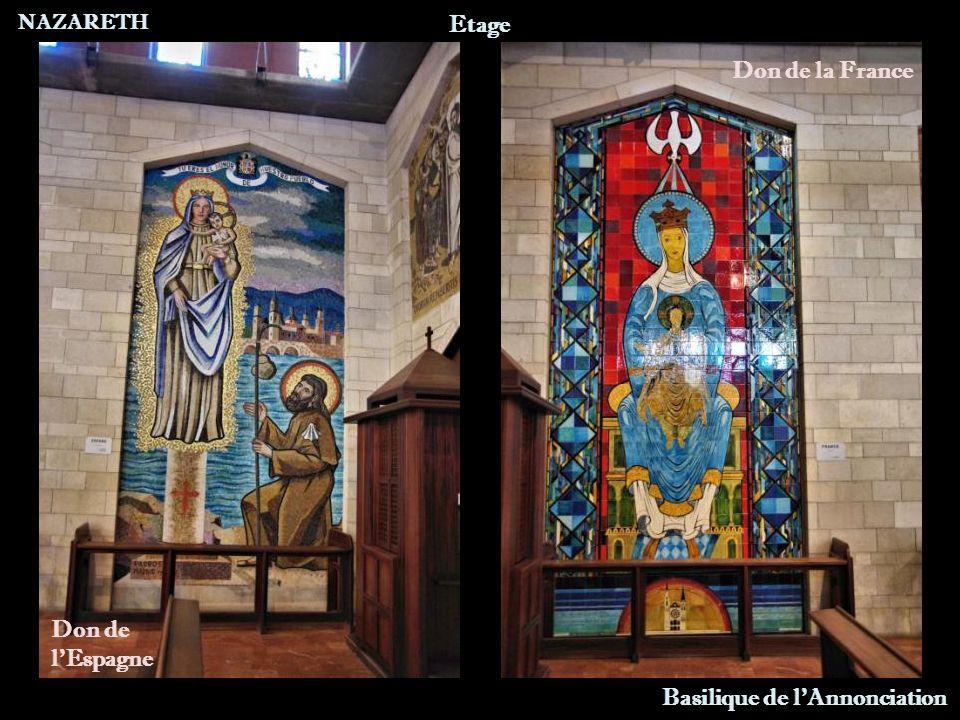 NAZARETH Basilique de l Annonciation Etage