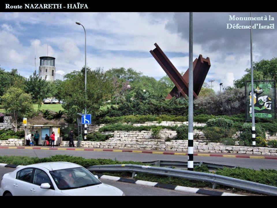 Route NAZARETH - HAÏFA