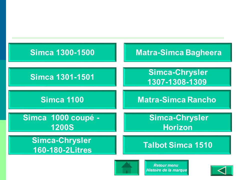 Retour menu Histoire de la marque Simca Vedette – 1954 / 57 Simca 9 – Aronde – P60 Simca 8 Simca 5 Simca 6 Simca Vedette – 1957 / 62 Simca-Fiat 6cv Si