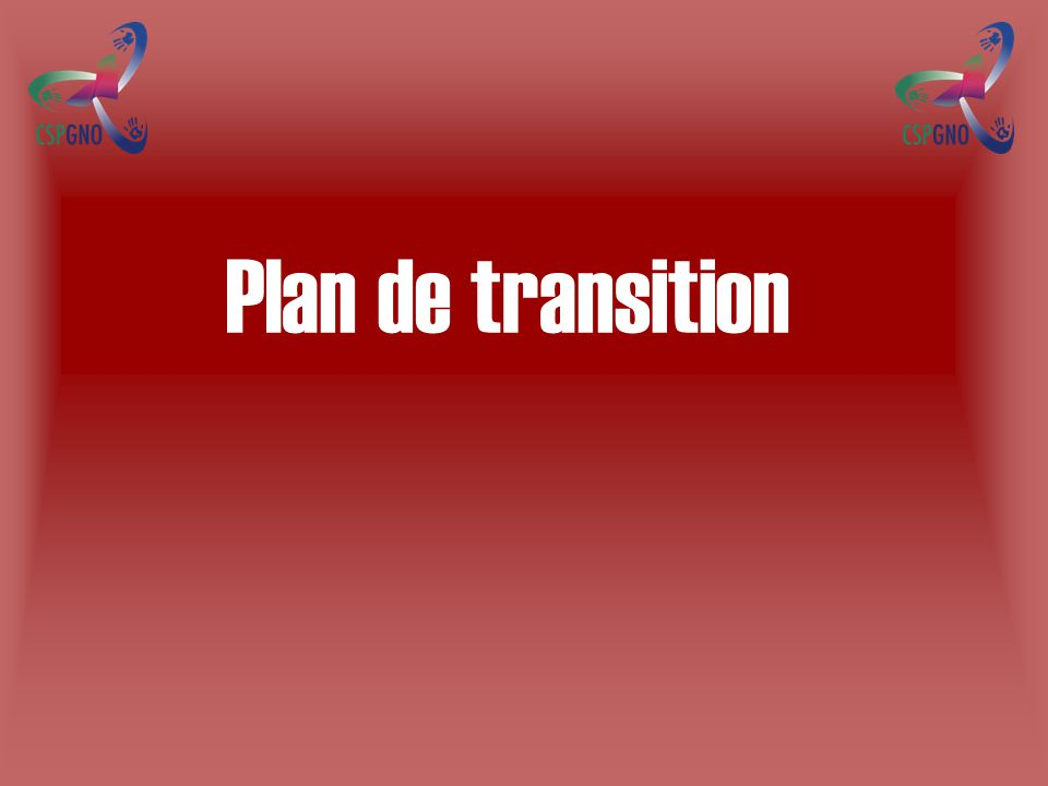 Plan de transition