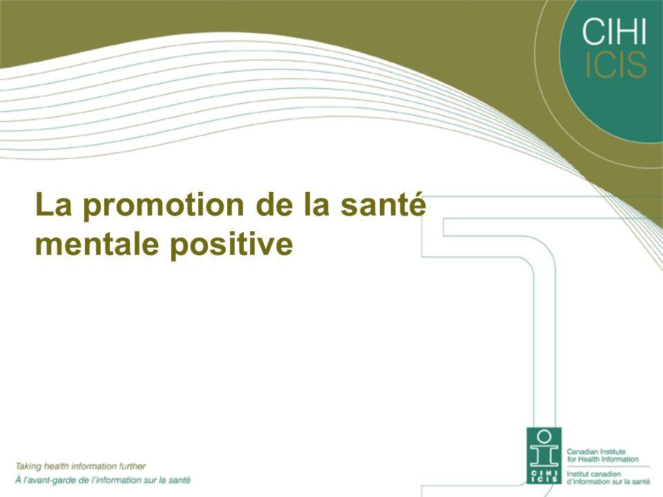 La promotion de la santé mentale positive