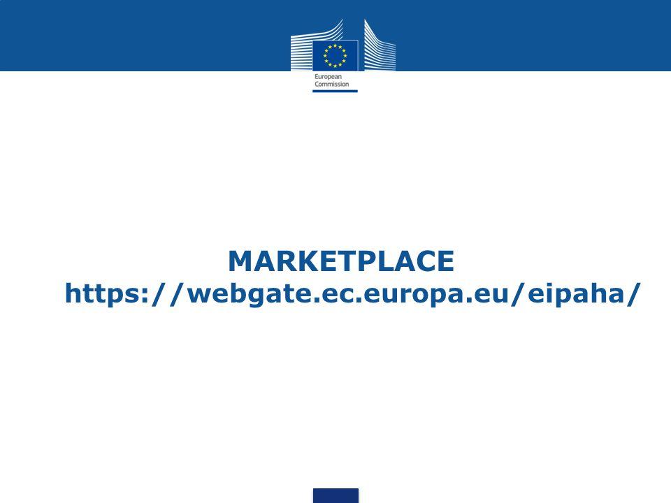 MARKETPLACE https://webgate.ec.europa.eu/eipaha/