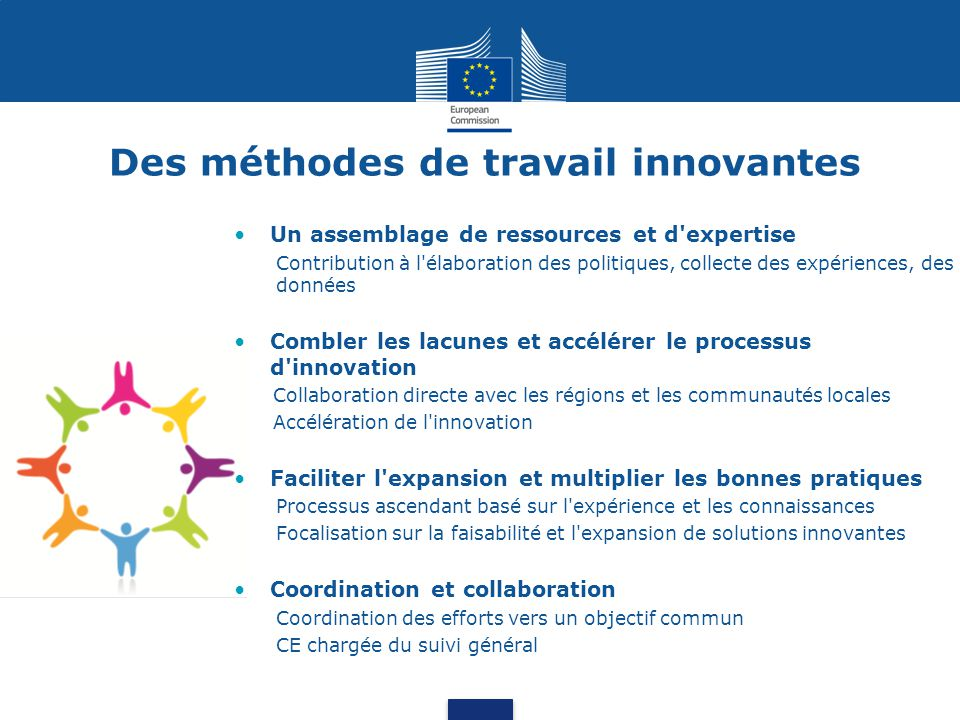 Based on results of the Survey on process indicators, prepared by the EC, with input of 107 respondents out of 261 asked Satisfaction concernant les partenaires et parties prenantes de l EIP (1)