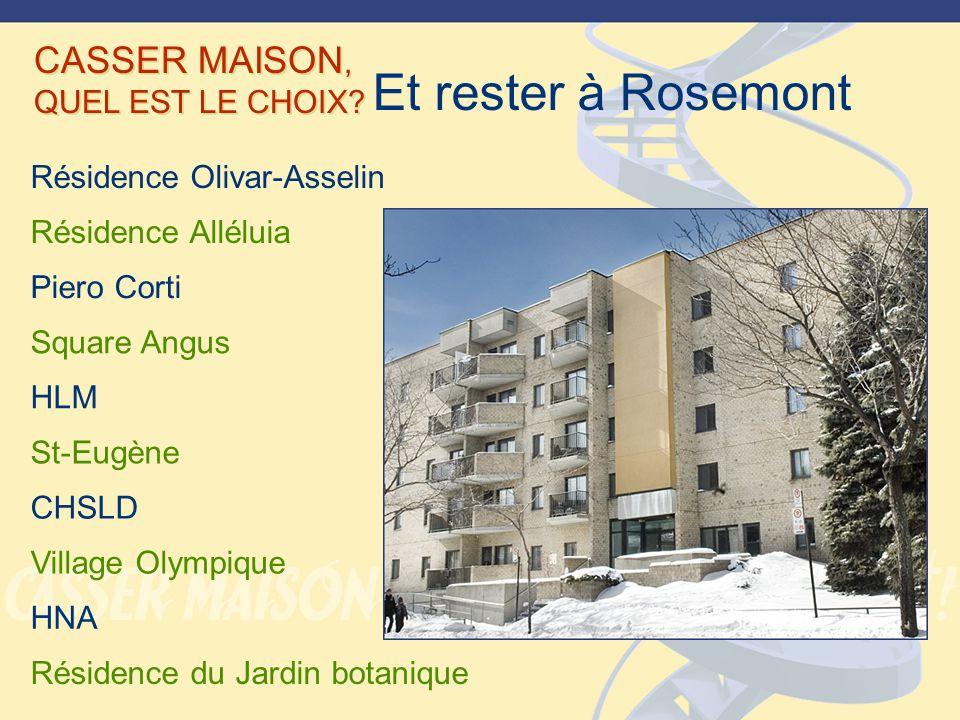 CASSER MAISON, QUEL EST LE CHOIX.