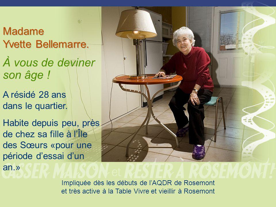 Madame Yvette Bellemarre.Madame Yvette Bellemarre.