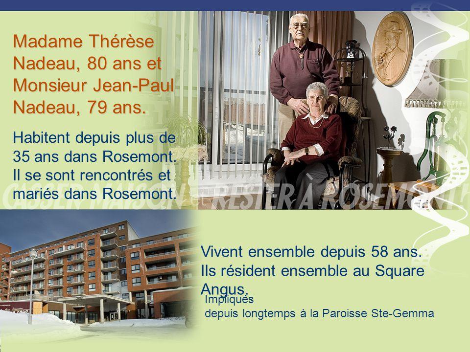 Madame Pierrette Madore, âgée entre 65 ans et 75 ans.